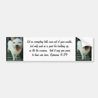 Last Hopes Chatty Catty Bumper Sticker