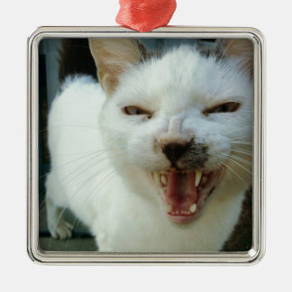 Last Hopes Chatty Catty Metal Ornament