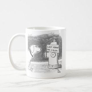 last hydrant coffee mug