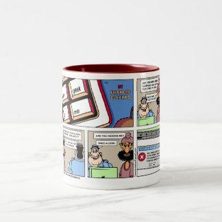 Last internet Page mug! Two-Tone Coffee Mug