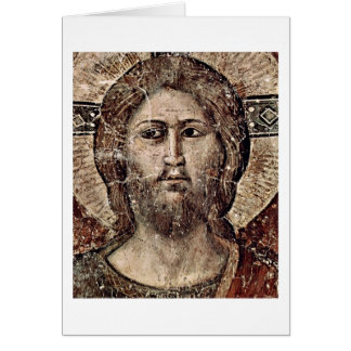 Last Judgement: Christ By Pietro Cavallini Greeting Card
