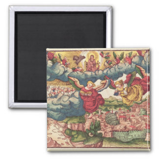 Last Judgement, from the Luther Bible, c.1530 Magnet