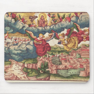 Last Judgement, from the Luther Bible, c.1530 Mouse Pad