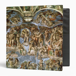 Last Judgement, from the Sistine Chapel, 1538-41 3 Ring Binder