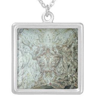 Last Judgement Square Pendant Necklace