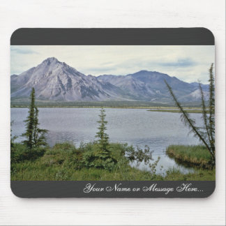 Last Lake along Sheenjek, Arctic National Wildlife Mouse Pads