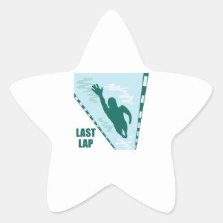 Last Lap Star Sticker