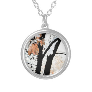 Last Leaf Personalized Necklace