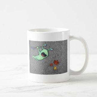 last leaves of autumn coffee mug