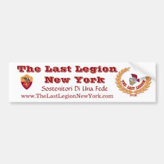 Last Legion Bumper Sticker