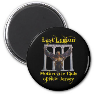 Last Legion Motorcycle Club of New Jersey Magnet