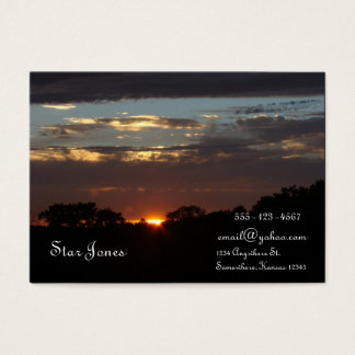 LAST LIGHT BUSINESS CARD