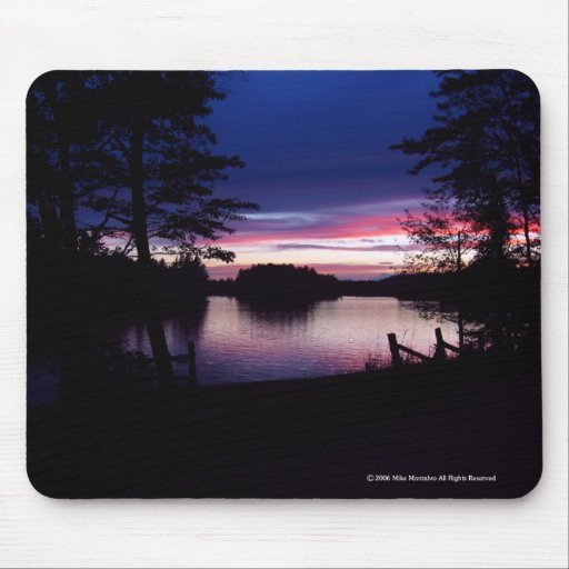 Last Light Of Day Mouse Mats