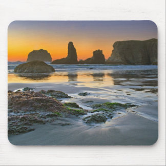 Last Light Over the Pacific - Bandon, Oregon Mouse Pad