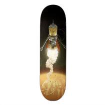 artsprojekt, Skateboard com design gráfico personalizado