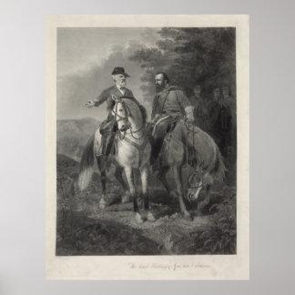 Last Meeting of Robert E. Lee & Stonewall Jackson Print
