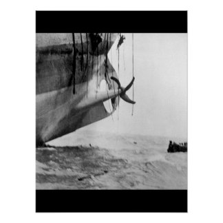 Last minute escape from vessel torpedoed_War Image Poster