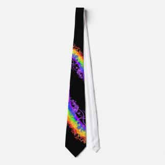 Last Minute Rainbow Wedding Tie