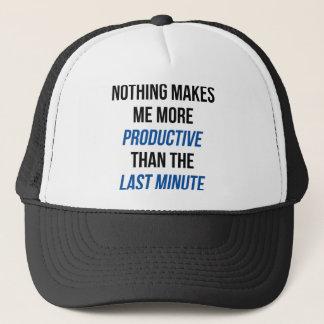 Last Minute Trucker Hat