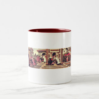 Last Miracle and the Death of St. Zenobius Two-Tone Coffee Mug