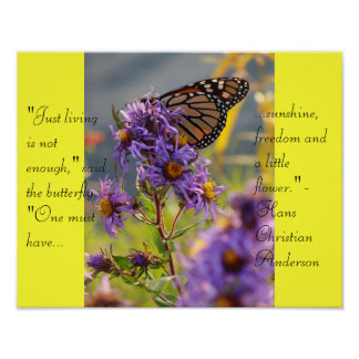 Last Monarch Butterfly Poster