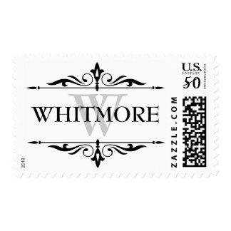 Last Name Custom postage stamps