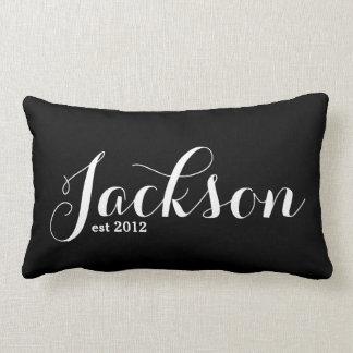 Last Name Lumbar Pillow