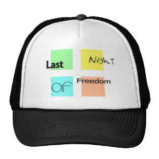 Last night of freedom trucker hat