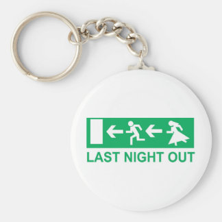 last night out keychain