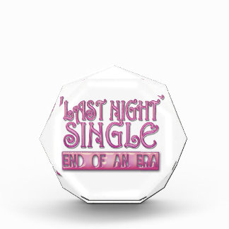 last night single bachelorette wedding party funny awards