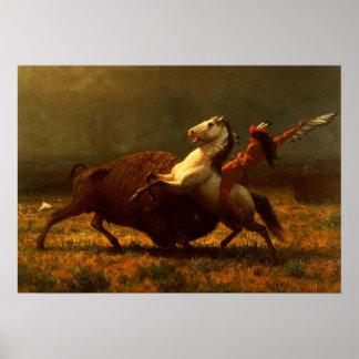 Last of the Buffalo Hunt Print