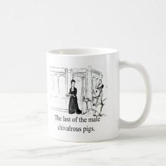 Last of the Male Chivalrous Pigs-Mug