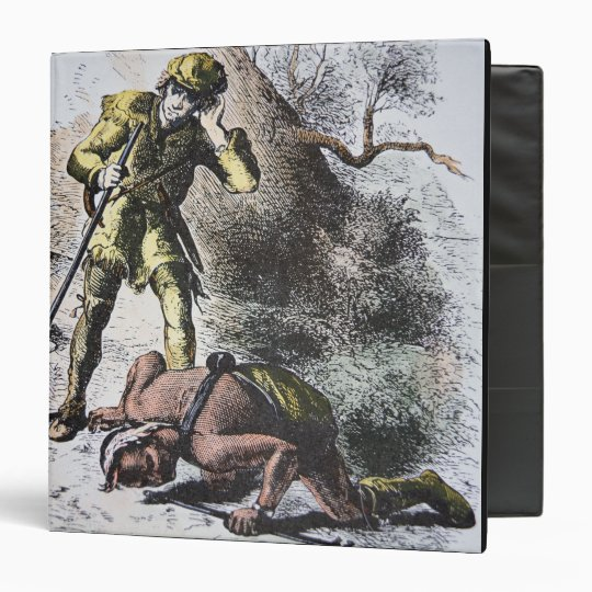 'Last of the Mohicans' by James Fenimore Cooper (1 3 Ring Binder