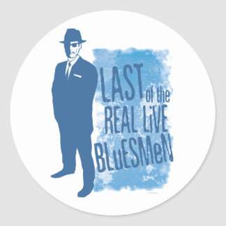 Last of the Real Live Bluesmen Sticker