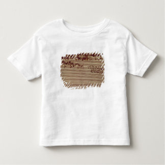 Last page of The Art of Fugue, 1740s Toddler T-shirt