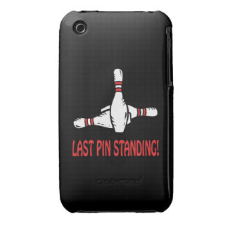 Last Pin Standing iPhone 3 Case