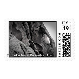 Last Rays of the Setting Sun, Lake Mead Recreat... Postage Stamps