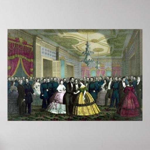 Last Reception de presidente Lincoln Impresiones