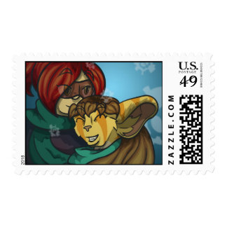 Last Res0rt Andromeda Holiday Stamp - Horizontal