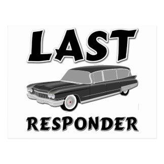 Last Responder Postcard