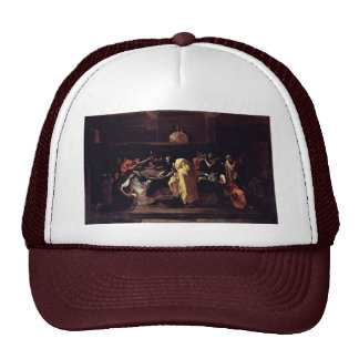 Last Rites By Poussin Nicolas Best Quality Mesh Hat