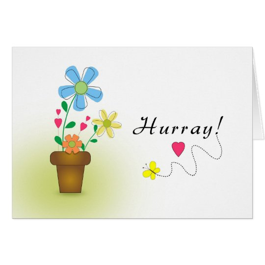 Last Round of Chemo-Hurray-Caring Cancer Card