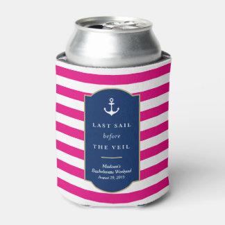 Last Sail | Bachelorette Can Cooler