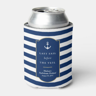 Last Sail | Bachelorette Can Cooler