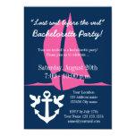 LAST SAIL BEFORE THE VEIL bridal party invitations