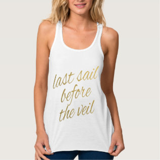 Last Sail Before The Veil Tank Top at Zazzle