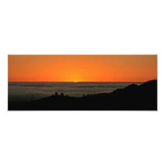 Last sliver of daylight photograph