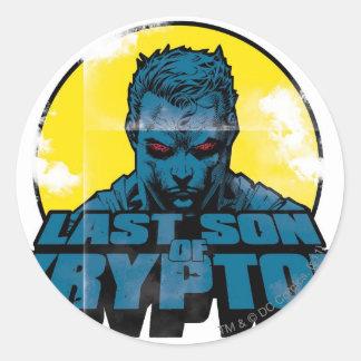 Last Son - Red Eyes Classic Round Sticker