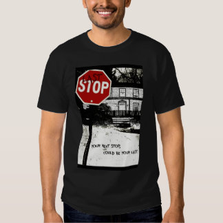 Last Stop Official Poster Tee