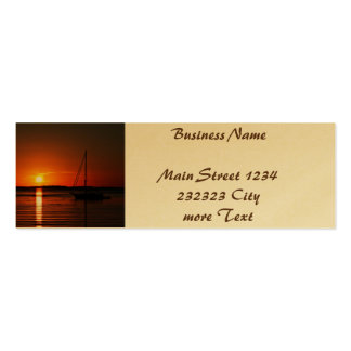 Last Summer Eveneing 01 Double-Sided Mini Business Cards (Pack Of 20)